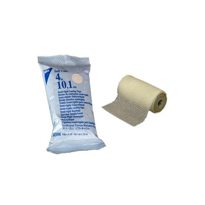 Semi-rigid plasters