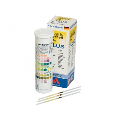 Reactive strips for urine
